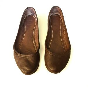 Frye Carson Flats Leather Size 8.5
